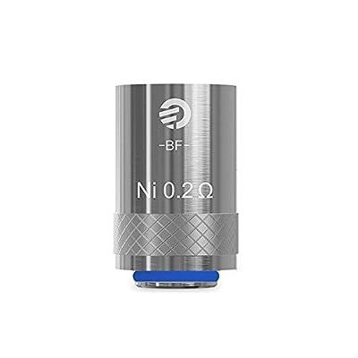 Joyetech CUBIS 5 x Nickel Coil NI-0,2 Ohm Verdampferkopf Atomizer Head 5-er Packung von Joyetech