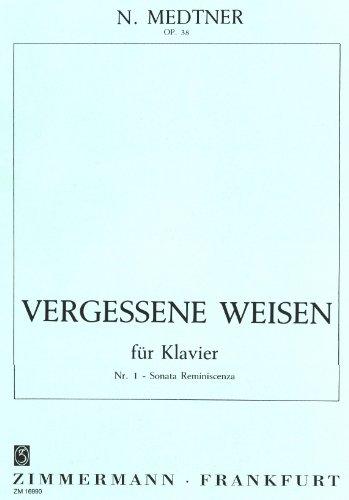 Vergessene Weisen für Klavier: Nr.1 Sonata Reminiszenza / OP. 38 par Nicolai Medtner