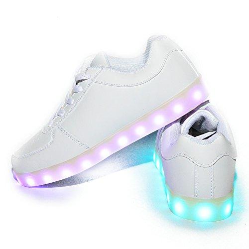 wildfire-zapatillas-luces-led-para-ninos-ninas-color-blanco-para-recargable-con-certificado-ce-envio