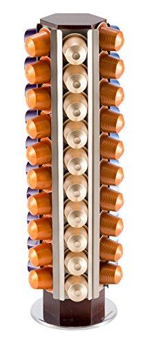 Drehbarer Kapselhalter für 60 Nespresso Kapseln (KRUPS)| unübertreffliche Qualität garantiert | Babavoom® N60