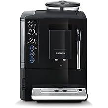 Siemens TE501505DE - Cafetera (Independiente, Totalmente automática, Espresso machine, Granos de café, Negro, Botones, Giratorio)