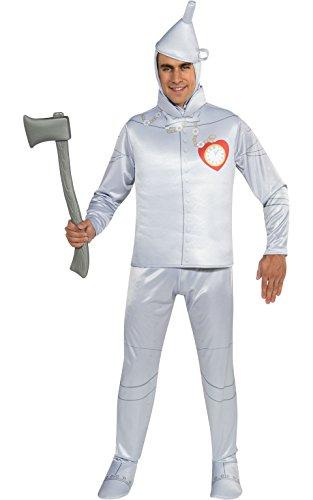 THE TIN MAN Kostüm Zauberer von Oz–Medium (Halloween-kostüme Der Zauberer Von Oz)