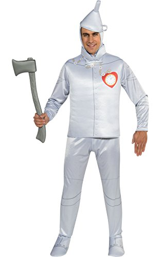 THE TIN MAN Kostüm Zauberer von Oz–Medium (Tin Man Kostüm Zauberer Von Oz)