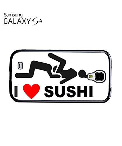 I Love Sushi Joke Phone Case Samsung Galaxy S5 Mini Black Noir