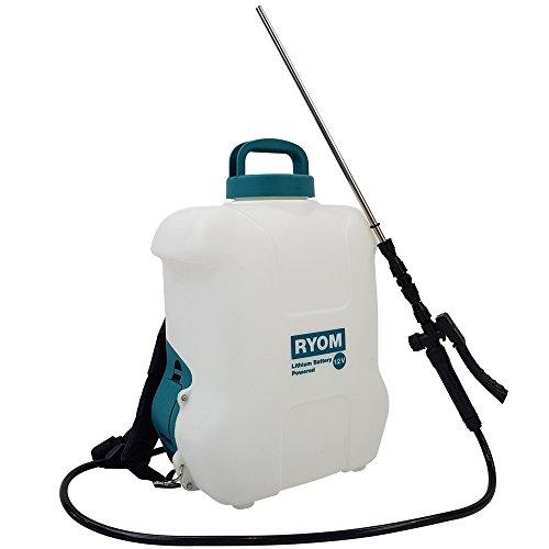 Pulvérisateur à pression à dos capacité 10 litres avec une pompe électrique puissante - pulvérisateur d'engrais, pesticides, eau....