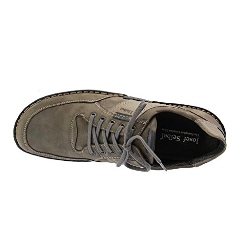 Josef Seibel Willow 22, Chaussures Lacées Homme Gris