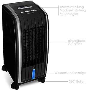 4in1 mobile klimaanlage klimager t schwarz. Black Bedroom Furniture Sets. Home Design Ideas