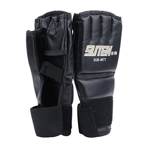 Groten Handschützer Sparring Handschuhe Sparring Grappling Boxenhandschuhe Box kampf Schlag ultimative Mitts Lederhandschuhe