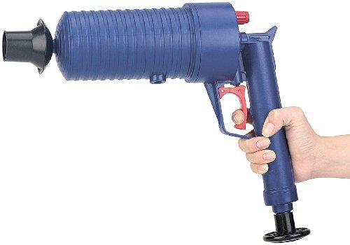AGT Pressluft-Rohrreiniger mit handlichem Pistolengriff - 5