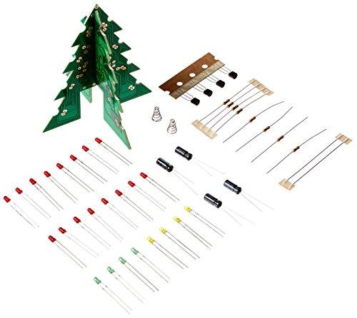 VELLEMAN - MK130 MiniKits 3-D Weihnachtsbaum, 840269