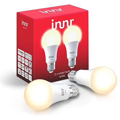 Innr E27 ampoule LED connectée Blanc, compatible avec Philips Hue* & Alexa, RB 265 (2-Pack)