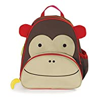 Skip Hop Zoo Little Kid Pack Bag- Monkey
