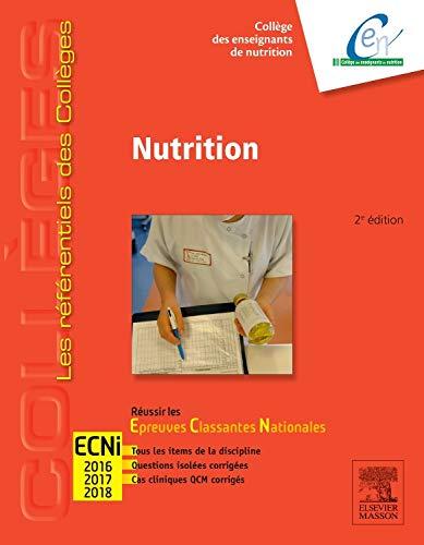 Nutrition: Réussir les ECNi par Collège des Enseignants de Nutrition