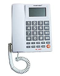 Landline Phone Telephone Corded Phone for Office and Home Purpose Phone Orientel KX-T1599 (Multicolor)