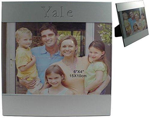 Yale Frames (Kundenspezifischer gravierter Fotorahmen aus Aluminium mit Namen: Yale (Vorname/Zuname/Spitzname))