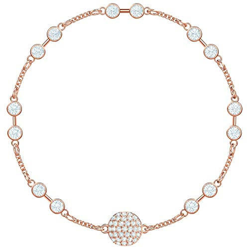 Swarovski Damen-Armreifen Edelstahl Kristall 5435651 -