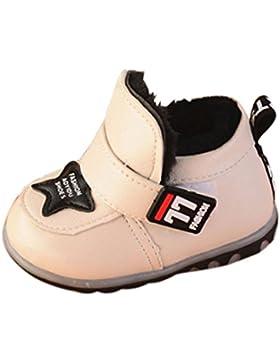 Leder Schuhe Leuchten Leuchtende Stiefel Kleinkind Kinder Baby Mädchen Jungen Winter Schuhe Luckygirls