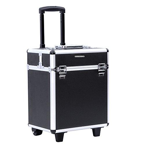 Songmics® beauty case maleta multiusos tipo trolley