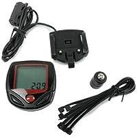 Dcolor LCD Bike Fahrrad computer Kilometerzaehler Tachometer