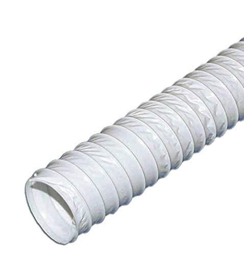 Abluftschlauch PVC 5m / 125 flexibel geeignet für Klimaanlage, Wäschetrockner und Abzugshaube