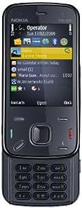 Nokia N86 Téléphone portable UMTS GPS / Wlan / Appareil photo 8.0 mégapixels / sans contrat / sans branding / débloqué  Noir indigo  (Import Allemagne)