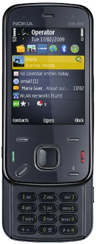 Nokia N86 8MP indigo black (GPS, W-Lan, Kamera mit 8 MP, Ovi Karten) UMTS Handy
