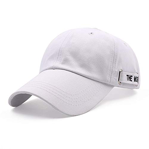 KFEK Hut Damen Freizeitmode Kappe im Freien Sonnenschutz Visier Herrenpaare Baseballmütze E2 einstellbar