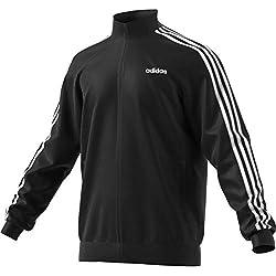 Adidas 3s TT Tric Sweatshirt Chubasquero Para Hombre Black/White Tamaño L