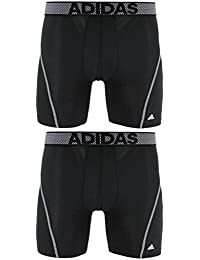 adidas Men's Sport Performance ClimaCool Boxer Underwear (Pack of 2)