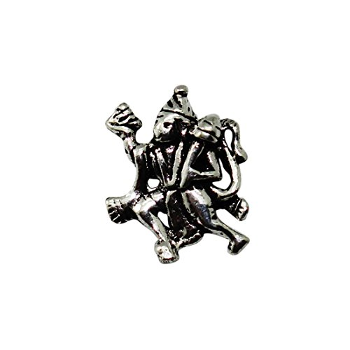 Frabjous1 Religion Oxidized Lord Hanuman German Silver God Pendant for Boys  available at amazon for Rs.165