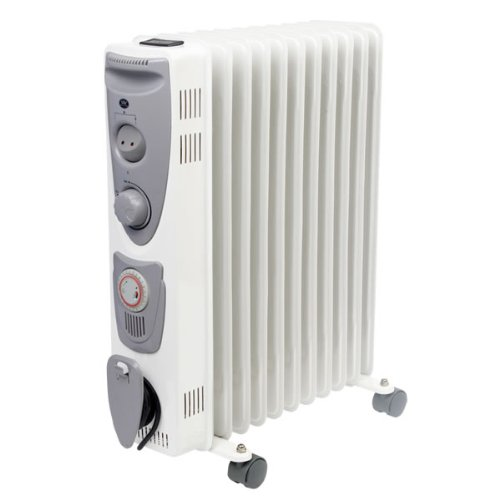 41mPAXUX0NL. SS500  - Prem-i-air Oil-Filled Radiators, White/Grey
