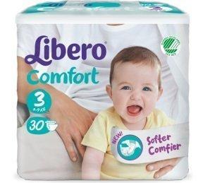LIBERO COMFORT 3 PANN 4-9 30 PZ