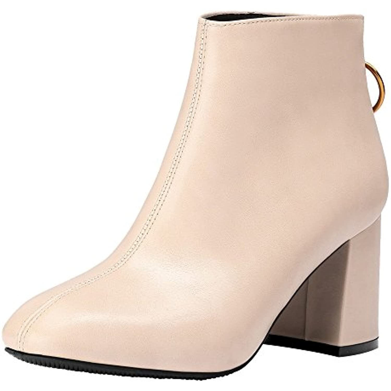 Femme Femmes sonnena Cuir Homme Automne Bottes Hiver Chaussures qwFOR b573a3cf451c