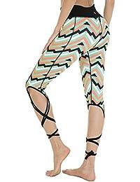 c45316e65d2bf QUEENIEKE Pantalones de Mallas de Yoga de Cintura Alta para Mujeres  Pantalones de Mallas para Correr