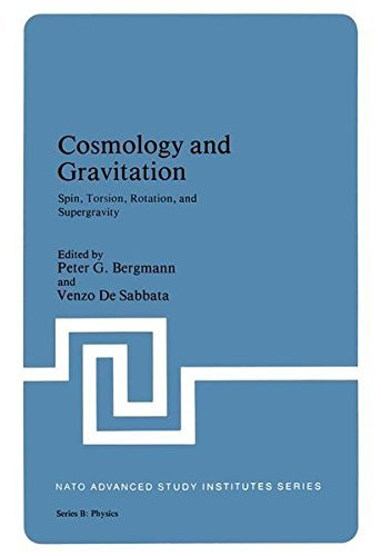 Cosmology and Gravitation: Spin, Torsion, Rotation, and Supergravity (Nato Science Series B:) by Peter G. Bergmann (1980-10-31)