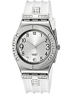 Swatch Damen-Armbanduhr Fancy Me Analog Quarz YLS430