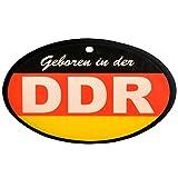 Ostprodukte-Versand.de Lufterfrischer DDR schwarz rot gold in Duftnote Wald | GRATIS DDR Geschenkkarte | Ossi Artikel | Geschenkidee für alle Ostalgiker aus Ostdeutschland | DDR Produkte