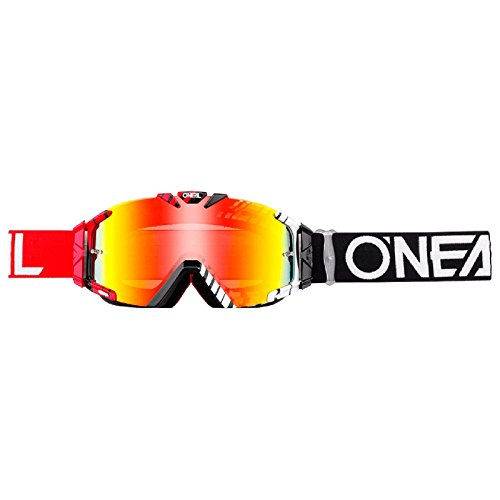 Preisvergleich Produktbild O'Neal B-30 Goggle Duplex Crossbrille Radium Motocross DH Downhill MX Anti-Fog Glas,  6032-11,  Farbe rot
