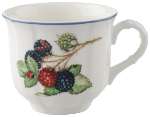 Villeroy & Boch 10-1115-1300 Cottage Kaffeetasse, 0,2 l, Premium Porzellan