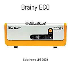 SolidGEARS Sukam Brainy ECO 1600 24V Solar Hybrid Home Sinewave UPS Inverter