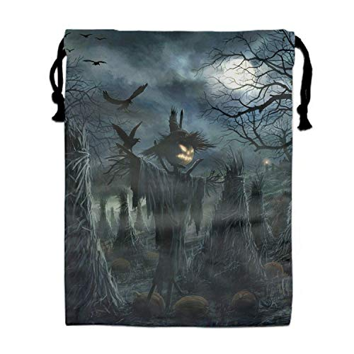 Naiyin Halloween Drawstring Bag/Shoes Underwear Makeup Laundry Storage Pouch Bags Organizers