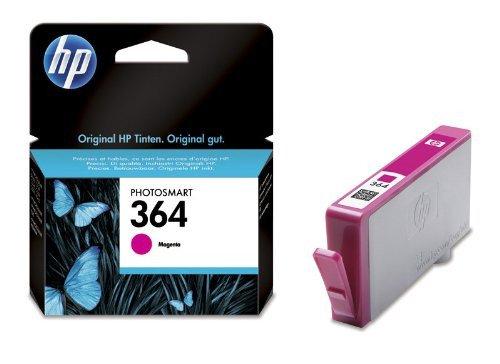 Preisvergleich Produktbild HP 364Magenta Tintenpatrone (Magenta, HP PhotoSmart D5400/D7500-Tintenpatrone für HP PhotoSmart All-in-One Printer–B109/B110HP Photosmart C5300..., Standard, Tintenstrahl, 5–80%,-40–70°C)