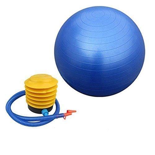 ADDCART Anti-Burst Exercise Gym Ball 65cm with Pump | Anti-Slip Balance Stability Ball | Heavy Duty Fitness Yoga Ball | Extra Thick Swiss Birthing Ball