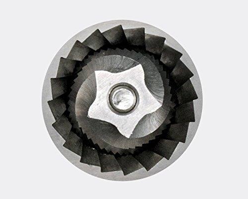 ROMMELSBACHER EKM 300 elektrische Kaffeemühle mit Kegelmahlwerk / Kaffeepulver täglich frisch / 12 Stufen-Mahlgrad / Mengendosierung / 150 W / schwarz,silber -