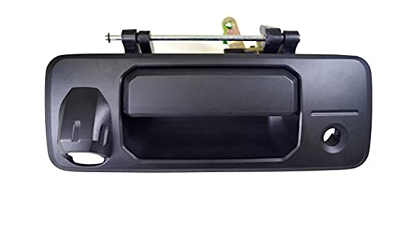 Textured Black PT Auto Warehouse TO-3954A-TGCX Tailgate Handle with Camera
