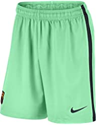 Nike Fc Barcelona M Ha3G Stadium Pantalón Corto, Hombre, Verde (Green Glow / Black), S