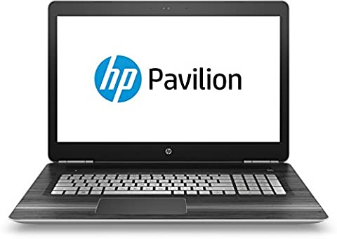 HP Pavilion (17-ab201ng) 43,9 cm (17,3 Zoll / Full-HD IPS) Notebook (Intel Core i5-7300HQ, 8 GB RAM, 1 TB HDD, 128 GB SSD, NVIDIA GeForce GTX 1050, Windows 10 Home 64) in schwarz/silber