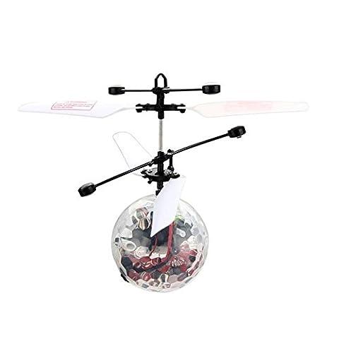 Frashing To Have Fun !!! Fliegen RC Ball Infrarot Induktion Mini Flugzeug Blinklicht Fern Spielzeug Für (Bagger Kostüm Diy)
