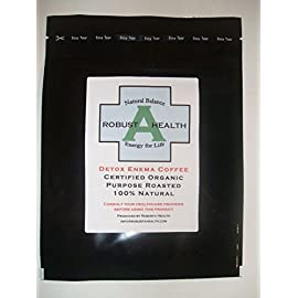 Detox Enema Coffee, 464g – Certified Organic, 100% Natural, FREE SHIPPING WORLDWIDE