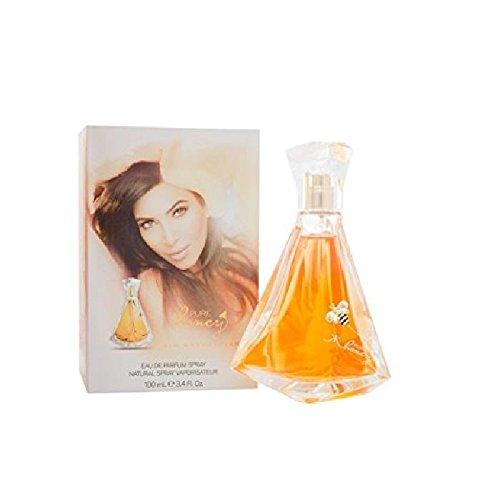 Kim Kardashian Pure Honey Eau de Parfum für Frauen 100ml - Honeysuckle Mandarin Parfüm